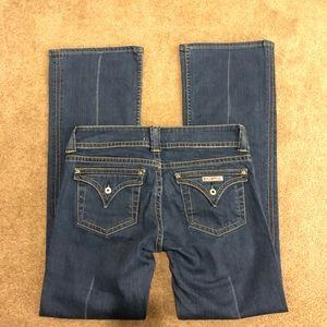 HUDSON Like New! Signature Boot Cut Jeans Size 31